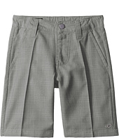 O'Neill Kids - Delta Plaid Shorts (Little Kids)