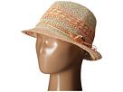 Roxy Big Swell Straw Fedora Hat (Warm Sand)