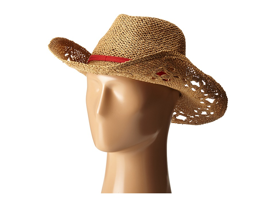 Roxy Cowgirl Straw Hat Deep Taupe Traditional Hats