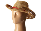Roxy Cowgirl Straw Hat (Deep Taupe)