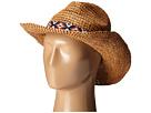 Roxy Cantina Straw Fedora Hat (Natural)