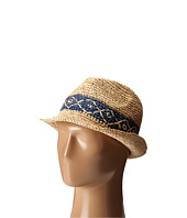 Roxy - Witching Straw Fedora Hat