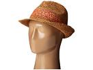 Roxy Witching Straw Fedora Hat (Chilli)