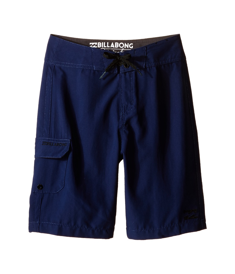 Billabong Kids All Day Boardshorts Big Kids Navy Boys Swimwear