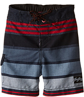 Billabong Kids - All Day Stripe Boardshorts (Toddler/Little Kids)
