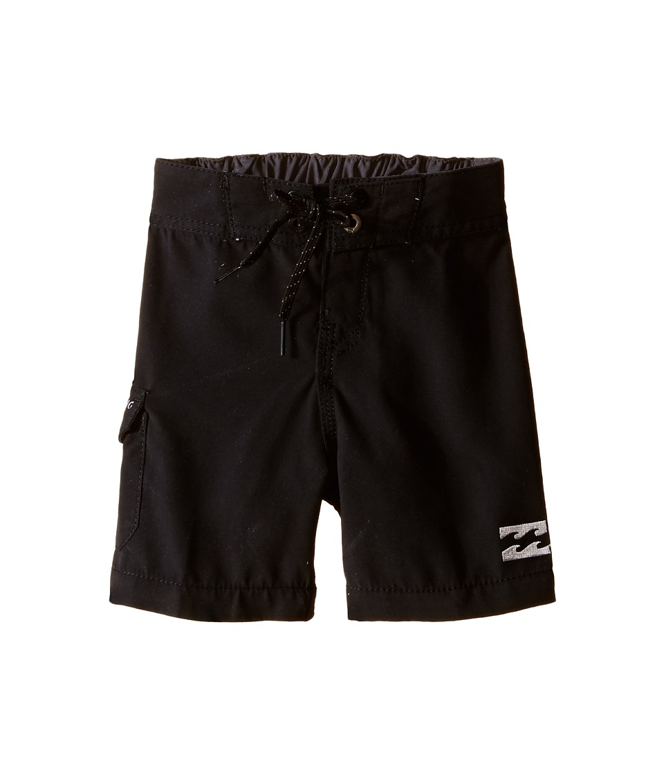 Billabong Kids All Day Boardshorts Toddler/Little Kids Black Boys Swimwear
