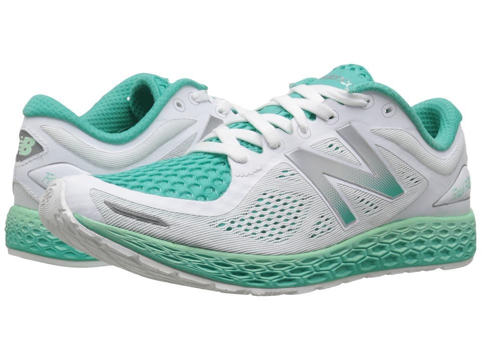 New Balance FF Zante V2 White/Sea Foam Womens Shoes