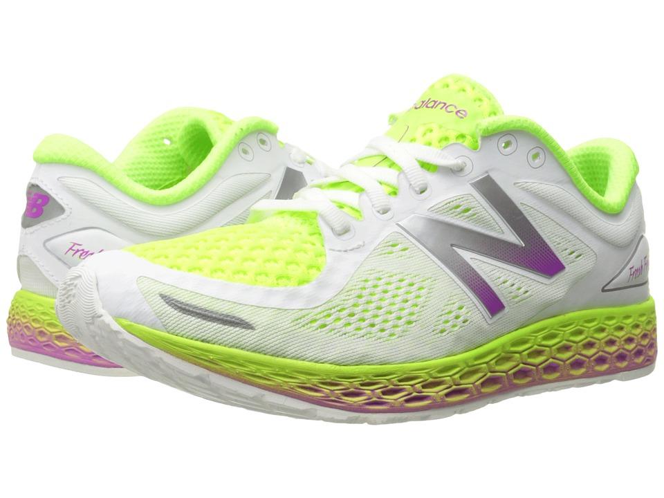 New Balance FF Zante V2 White/Hi Lite Womens Shoes