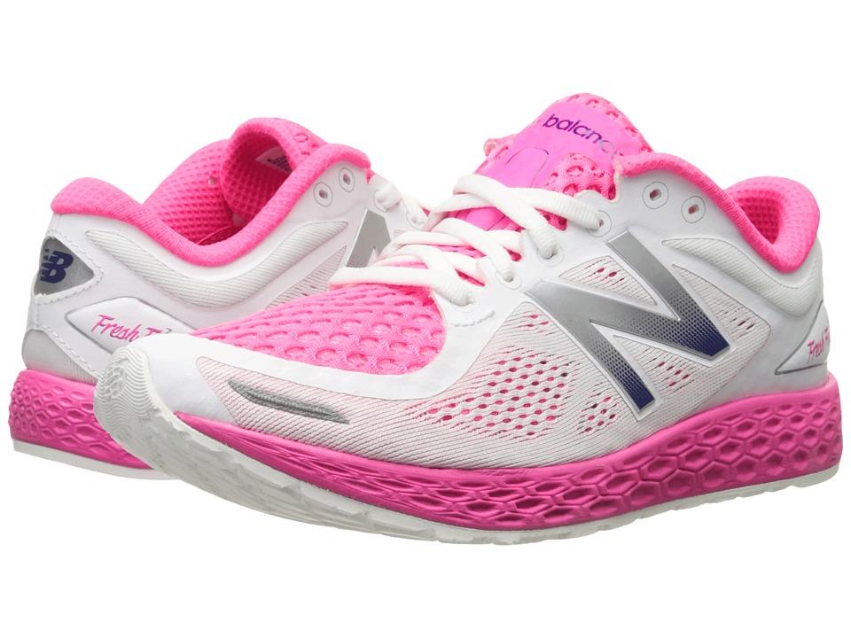 New Balance FF Zante V2 White/Amp Pink Womens Shoes