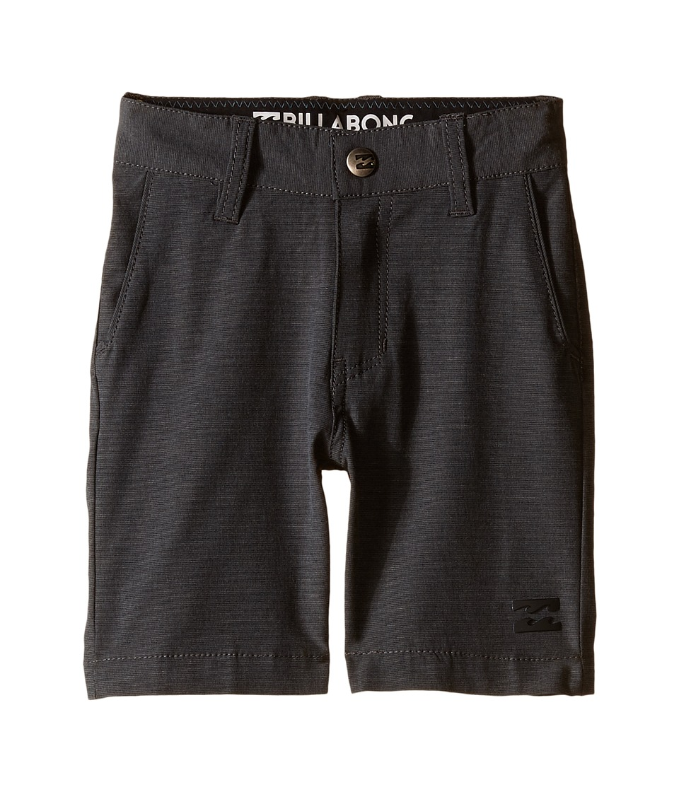 Billabong Kids Crossfire X Shorts Toddler/Little Kids Asphalt Boys Shorts