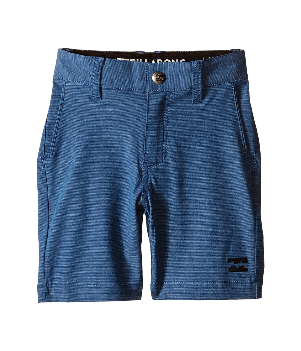 Billabong Kids Crossfire X Shorts Toddler/Little Kids Dark Royal Boys Shorts