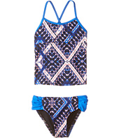 Hurley Kids - Tie-Dye Tankini Top & Tab Side Bottom (Little Kids)