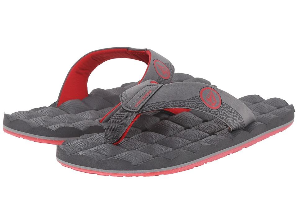 Volcom Kids - Recliner (Little Kid/Big Kid) (Grey Vintage) Boys Shoes