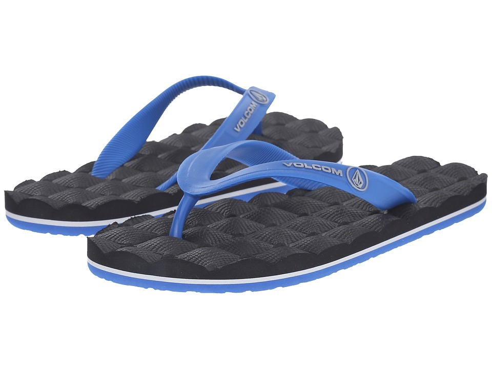 Volcom Kids - Recliner Rubber (Little Kid/Big Kid) (Blue Combo) Boys Shoes