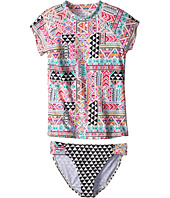 Billabong Kids - Mystical Madness Rashguard Set (Little Kids/Big Kids)