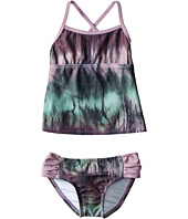 Hurley Kids - To Dye For Tankini Top & Tab Side Bottom (Little Kids)