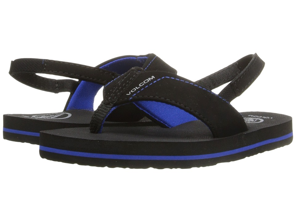Volcom Kids - Victor (Toddler/Little Kid) (Blue/Black) Boys Shoes
