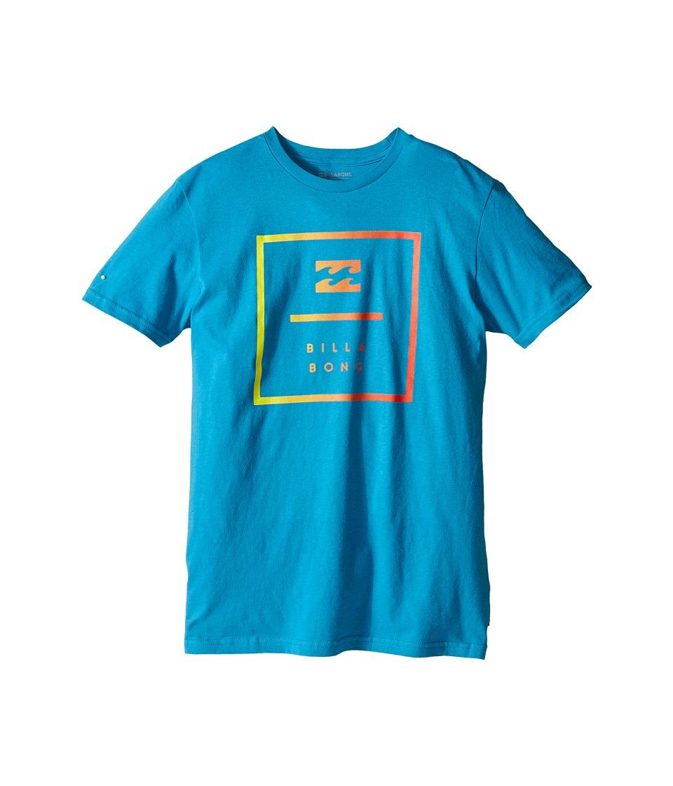 Billabong Kids - Block T-Shirt (Big Kids) (Bright Blue) Boy