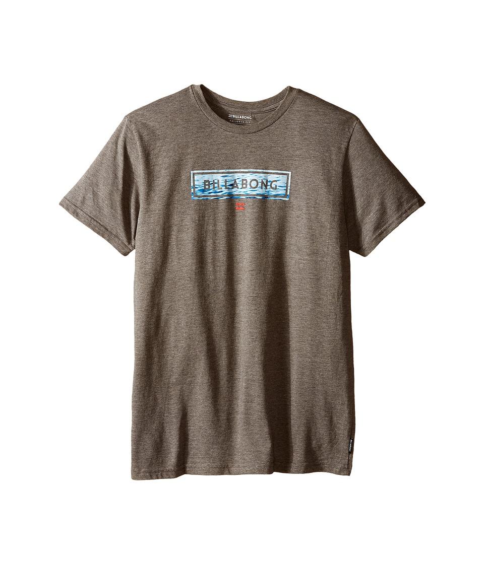Billabong Kids - Cohesive T-Shirt (Big Kids) (Dark Grey Heather) Boy