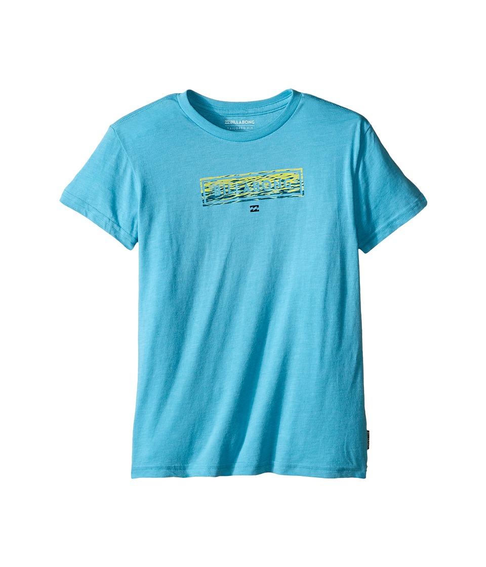 Billabong Kids - Cohesive T-Shirt (Toddler/Little Kids) (Aqua Heather) Boy