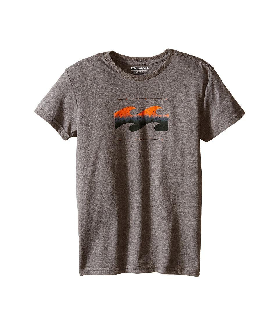 Billabong Kids - Altered T-Shirt (Toddler/Little Kids) (Dark Grey Heather) Boy