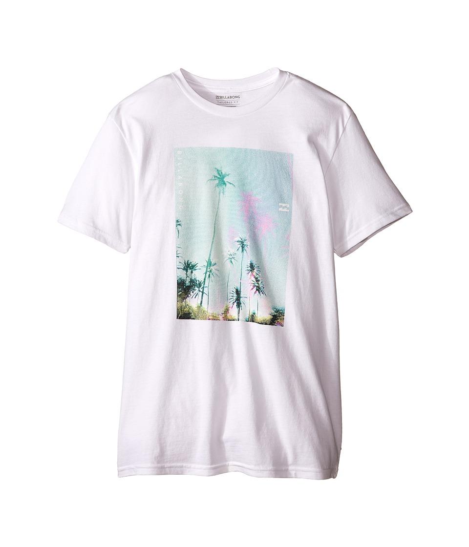 Billabong Kids - Tropic Haze T-Shirt (Big Kids) (White) Boy