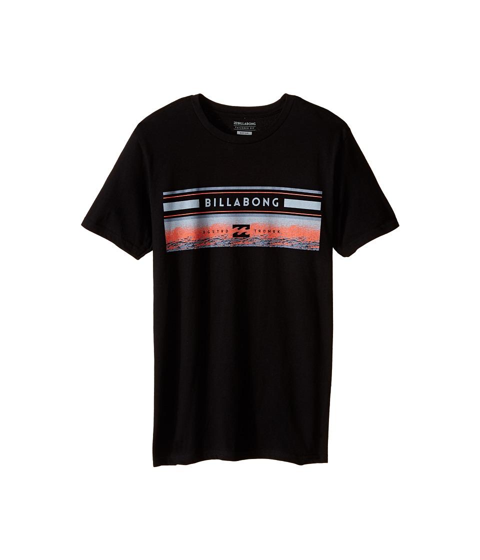 Billabong Kids - Sunset Spin T-Shirt (Big Kids) (Black) Boy