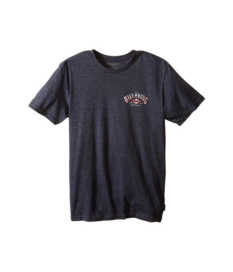 Billabong Kids - Arched T-Shirt (Big Kids) (Indigo Heather) Boy