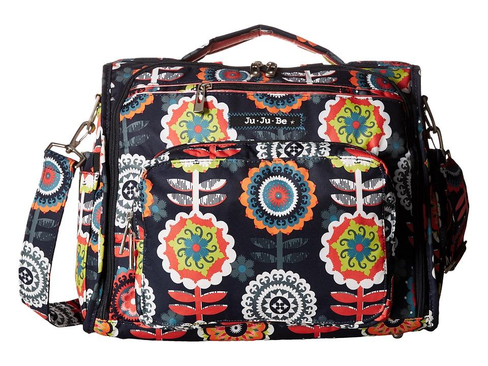 Ju-Ju-Be - B.F.F. Convertible Diaper Bag (Dancing Dahlias) Diaper Bags