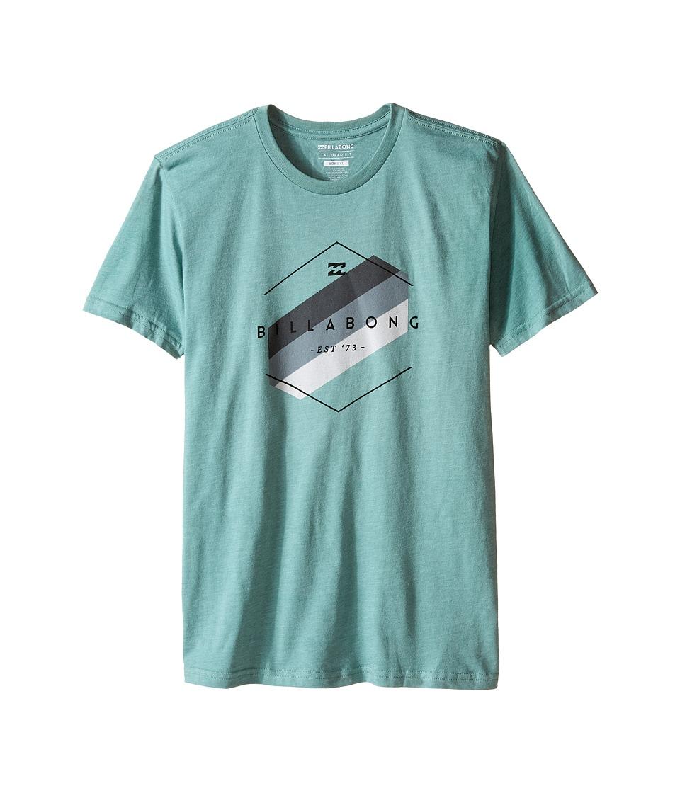 Billabong Kids - Obstacle T-Shirt (Big Kids) (Smoke Jade) Boy