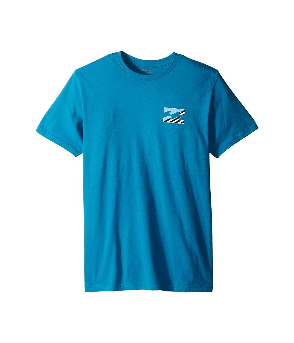 Billabong Kids - Monstro T-Shirt (Big Kids) (Bright Blue) Boy