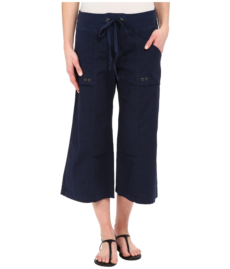 XCVI Ayara Crop Pants Navy Womens Capri
