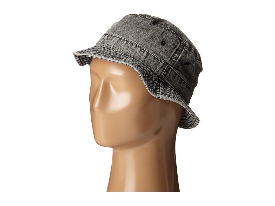 Quiksilver Buckler Hat Steeple Gray Bucket Caps