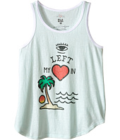 Billabong Kids - Eye Left My Heart Ringer Tank Top (Little Kids/Big Kids)