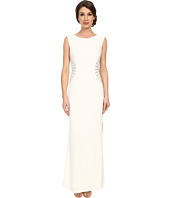 Laundry by Shelli Segal - Embellished Side Jersey Gown