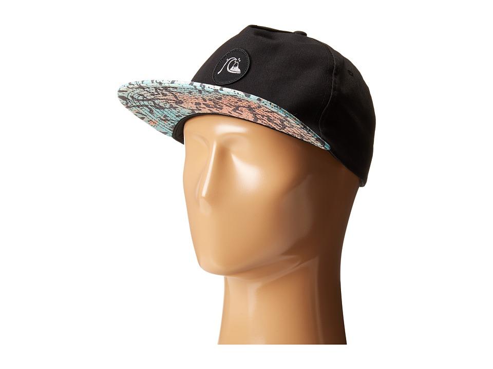 Quiksilver Engraver Snapback Black Baseball Caps