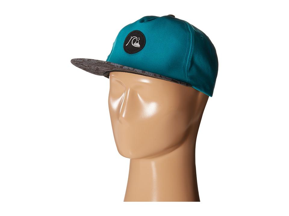 Quiksilver Engraver Snapback Pool Green Baseball Caps