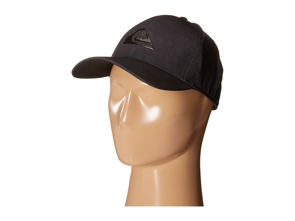 Quiksilver AG47 M W Bonded Amphibian Hat Black Baseball Caps