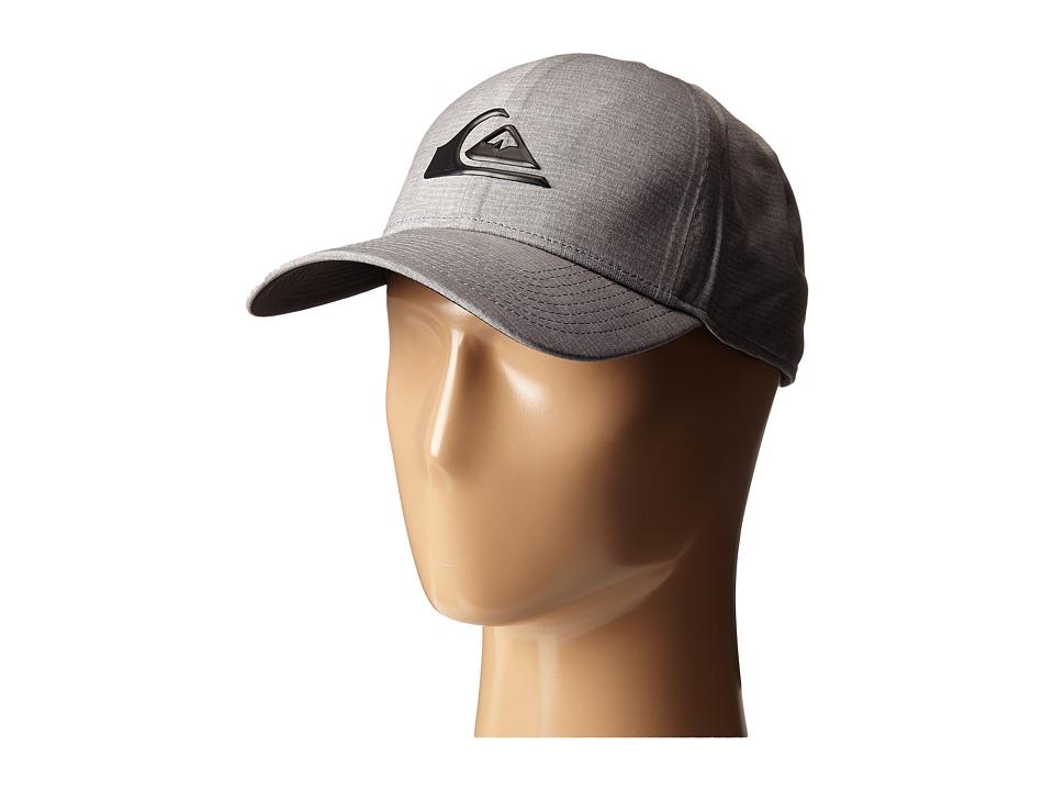 Quiksilver AG47 M W Bonded Amphibian Hat Steeple Gray Baseball Caps