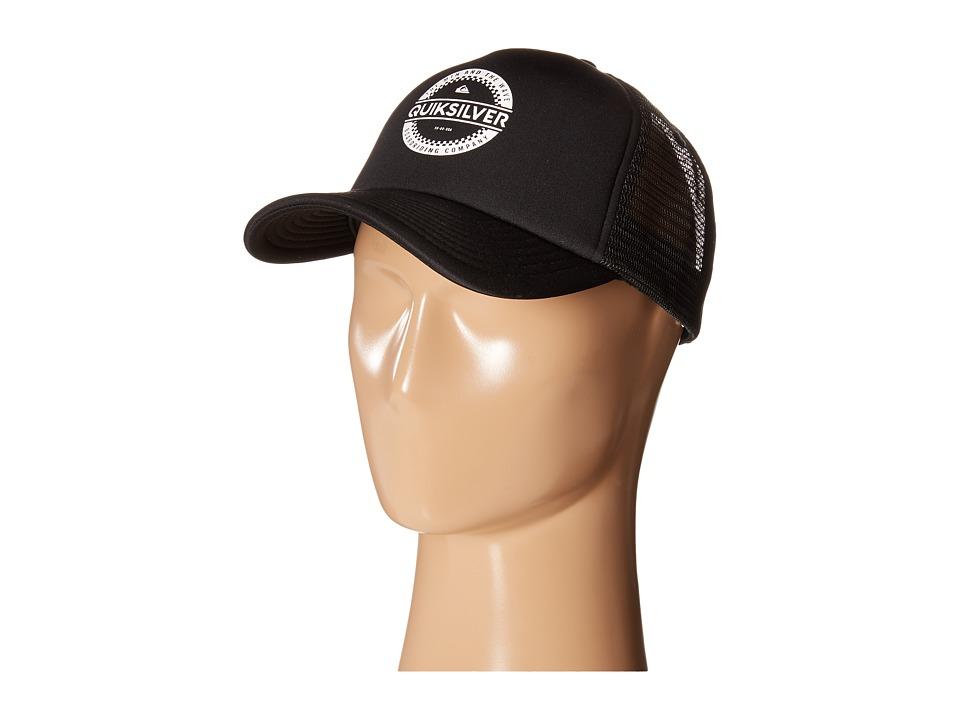 Quiksilver Everyday 3 Trucker Hat Black Baseball Caps