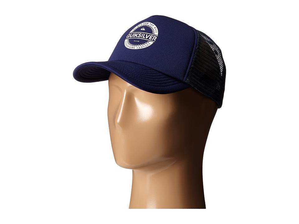 Quiksilver Everyday 3 Trucker Hat Navy Blazer Baseball Caps