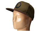 Quiksilver Roasted Snapback (Forest Night)