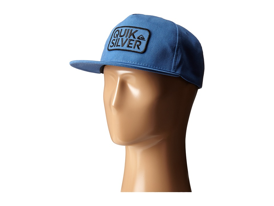 Quiksilver Barstay Snapback Federal Blue Baseball Caps