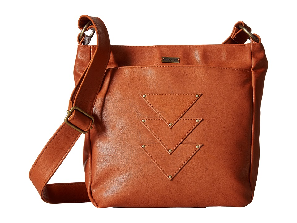 Roxy - Medina View Crossbody (Camel) Cross Body Handbags