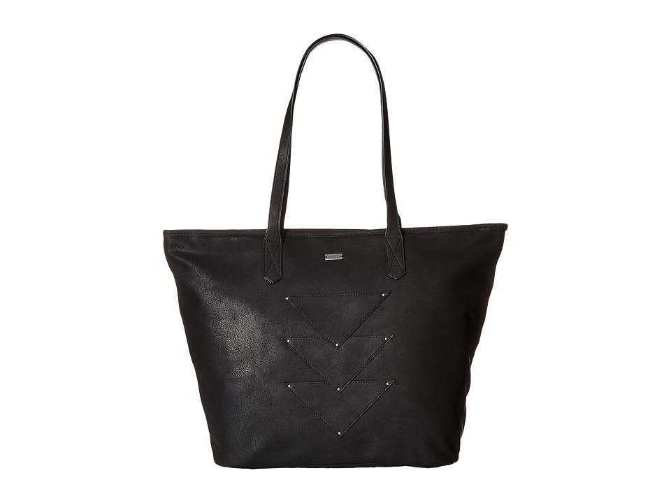 Roxy - Mosaic Spirit Tote (True Black) Tote Handbags