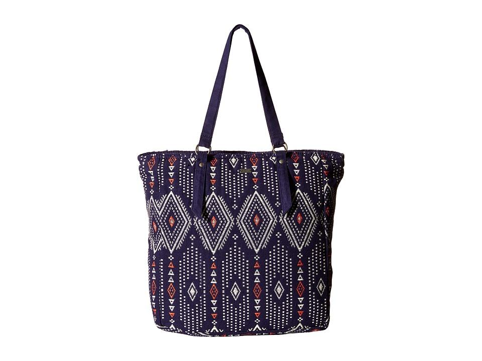 Roxy - Boho Party Tote (Geo Carpet Combo/Eclipse) Tote Handbags
