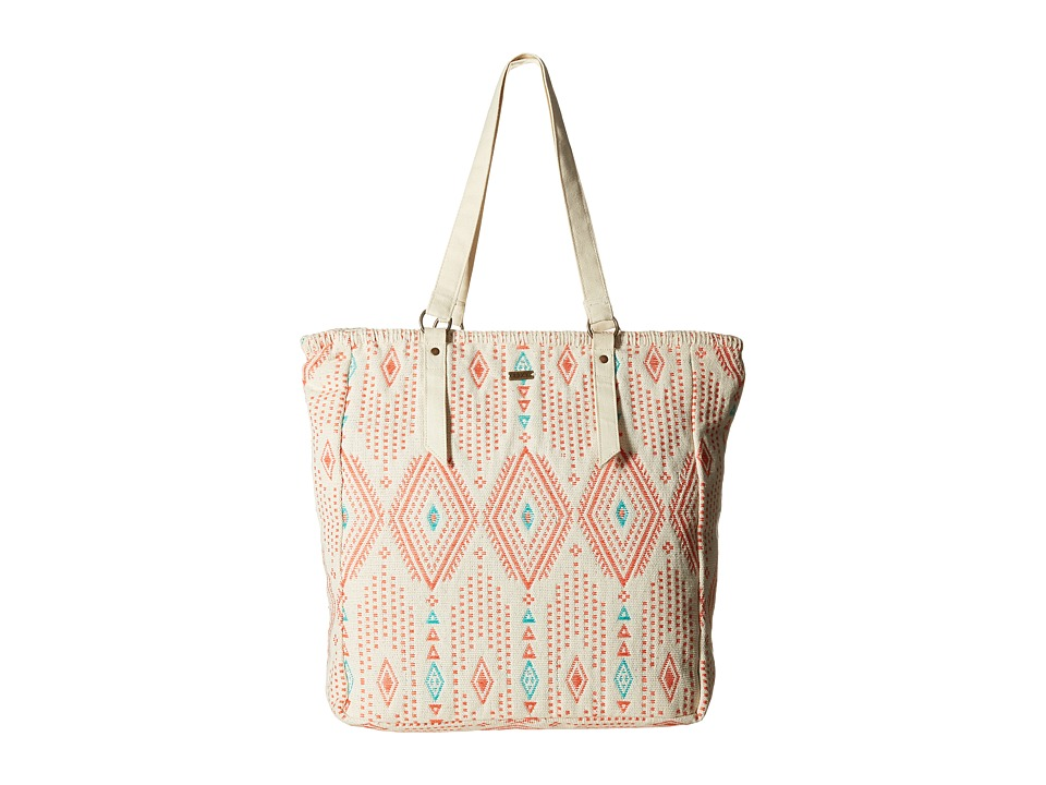 Roxy - Boho Party Tote (Geo Carpet Ax Combo/Sand Piper) Tote Handbags