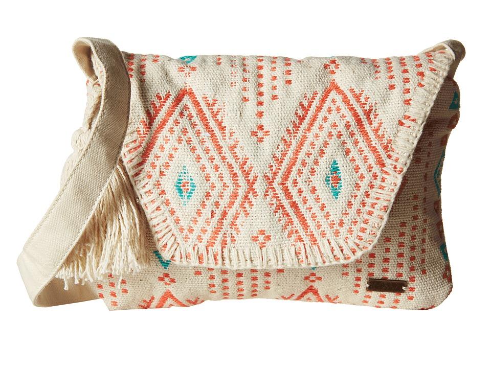 Roxy - Lovely Souk Crossbody (Geo Carpet Ax Combo/Sand Piper) Cross Body Handbags