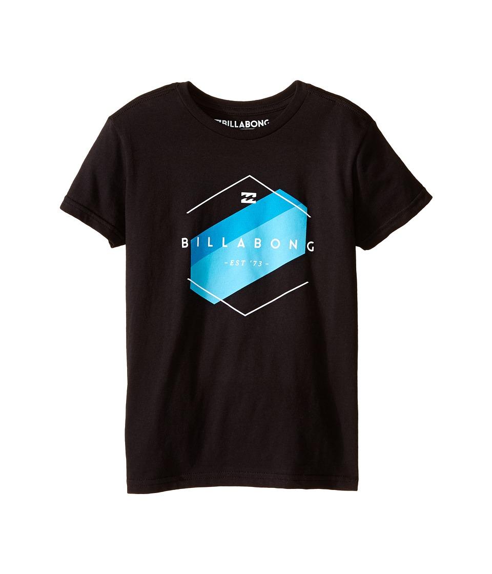 Billabong Kids - Obstacle T-Shirt (Toddler/Little Kids) (Black) Boy