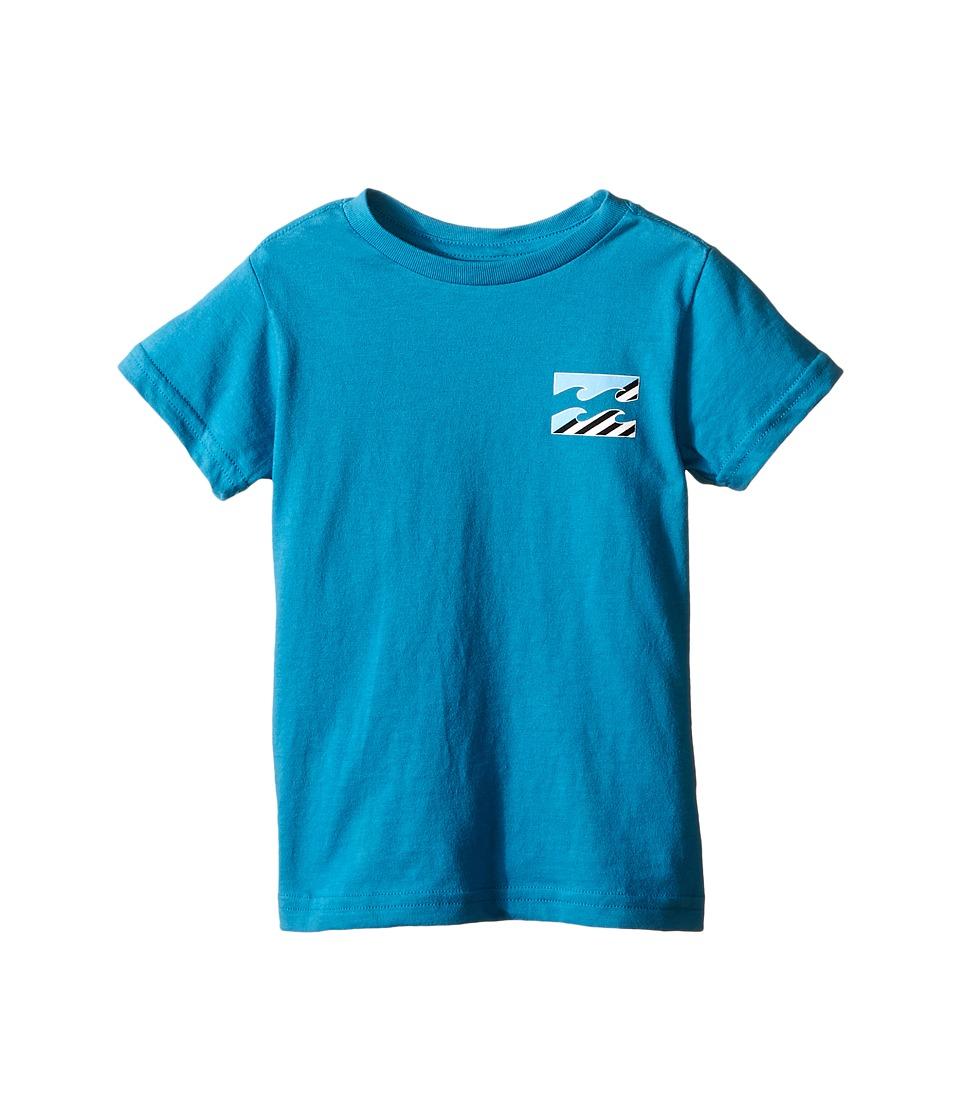 Billabong Kids - Monstro T-Shirt (Toddler/Little Kids) (Bright Blue) Boy